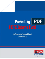 HDFC Income Fund December 2012