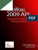 SolidWorks 2009 API - Advanced Product Development