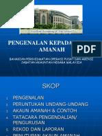 Akta 694 - Akta Suruhanjaya Pencegahan Rasuah Malaysia -SPRM- 2009