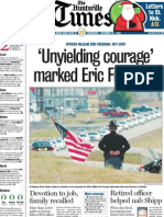 'Unyielding courage' marked Eric Freeman