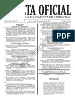 Gaceta Oficial 41039 Sentencia TSJ Contra Asamblea Nacional