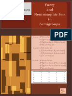 Fuzzy and Neutrosophic Sets in Semigroups