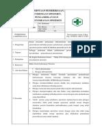 8.1.2.1b Spo Permintaan Pemeriksaan, Penerimaan, Pengambilan Dan Penyimpanan Specimen Pkm Ladongi Jaya 2018