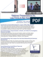 Social Media Research and Ethics MCLE Webinar Series