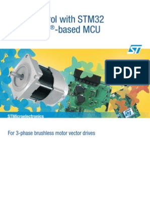 Motor control with STM32 32‑bit ARM®‑based MCU   Analog To Digital