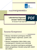 0# Macro Ergonomic Konsep and Definition