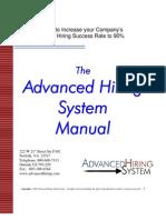 Advanced Sales Hiring System