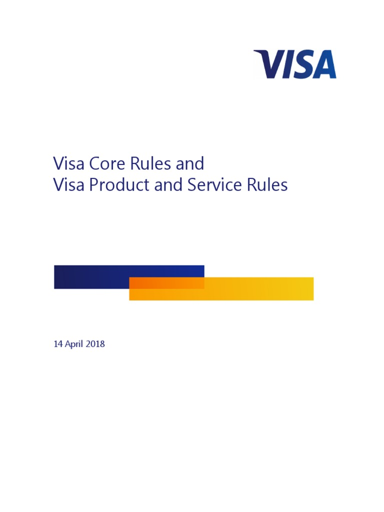 Visa Rules Public   Visa Inc    Stored Value Card