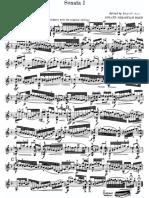 Bach Sonata 1