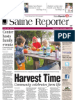 The Saline Reporter Front Page Oct. 7