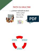 Operatii Cu Multimi 1
