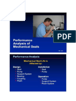 mechanical seal failure analysis