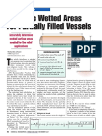 Accurate Wetted Areas for Partially Filled Vessels