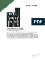 Design & Fashion - September 2018
