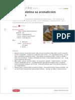 Grillana Piletina Sa Aromaticnim Maslacem
