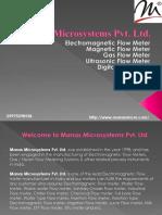 Electromagnetic Flow Meter- Manas.pptx