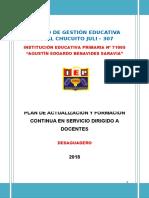 Plan de Formación Continua Colegiada 71005-2018