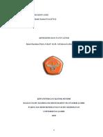 case report session adnexitis& fatty liver