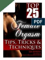 Top 25 Female Orgasm Tips