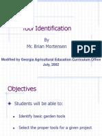 Tool Identification - Garden Tools by B Mortensen