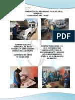 Informe Mensual de Seguridad y Salud en el Trabajo