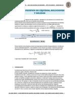 Calor Especifico de Líquidos Soluciones y Solidos