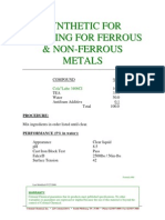 Synthetic for Grinding for Ferrous & Non-ferrous Metals 060