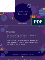 Synectics and Gordon ppt