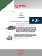 Faqs July 18 Steam Boilers