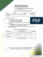 MTES3182 Pengajaran Sukatan, Geometri Dan Perwakilan Data (Elektif) Nov 2014
