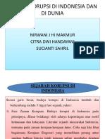 Sejarah Korupsi Di Indonesia Ppt