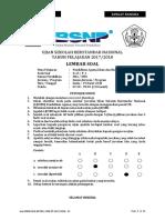 Soal Usbn Pai Sma_smk k13 2018 (p 1) Utama - Final