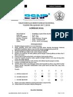 Soal Usbn Pai Sma_smk k13 2018 (p 2) Susulan- Final