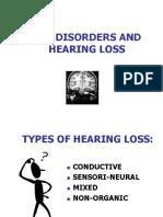 Ear Disorders Hearing Loss