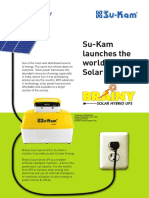 Solar Hybrid UPS Brainy 900