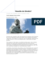 03 FERRAZ JR- Para Que Filosofia Do Direito