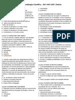 00 Provas Metodologia Cientifica -AV1-AV