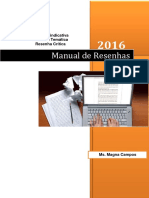 Manual de Resenhas Indicativas Tematicas Unlocked
