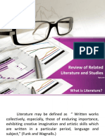 REPORT Review of Related Literature