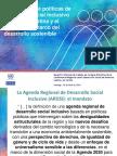 Una agenda de políticas de desarrollo social inclusivo en América Latina y el Caribe en el marco del desarrollo sostenible