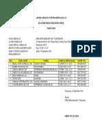 Agenda Kegiatan on Pendampingan k13