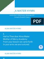 Alma Mater Hymn