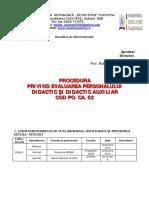 PO CA 02 Evaluarea Personalului Didactic Si Didactic Auxiliar