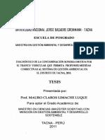 Contaminacion Del Parque Automotor