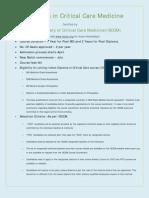 Diploma Critical Care