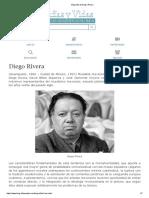 Biografía de Diego Rivera.