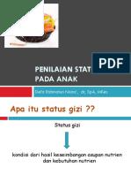 dr.Defa.Penilaian status gizi pada anak & Manajemen   ANP.pptx