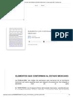 Elementos Que Conforman Al Estado Mexicano _ Cristian-gaspar 304 - Academia.edu