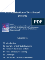 Topic_1_Characterization of Distributed Systems