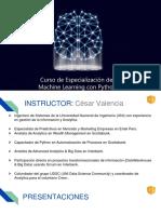 Ppt-Introducción de Machine Learning Con Python